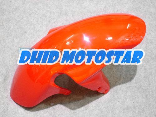 スズキGSXR 600 750 K4 2004 2005 GSXR600 GSXR750 04 05 R600 R750のためのオレンジブラックABSフェアリングキット