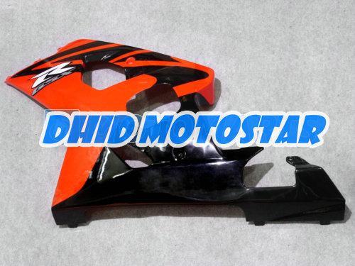 Orange Black ABS Fairing Kit voor Suzuki GSXR 600 750 K4 2004 2005 GSXR600 GSXR750 04 05 R600 R750