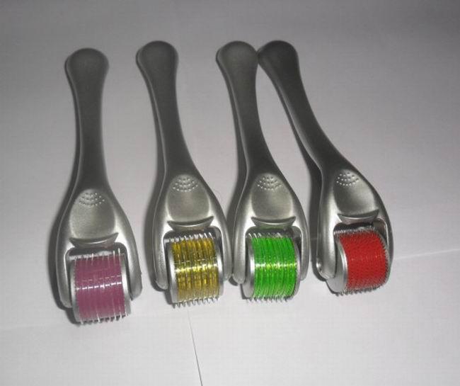 Partihandel 50st Micro Needle Derma Roller för hudföryngring, 540 Micro Needle Derma Roller, Skönhetsverktyg.