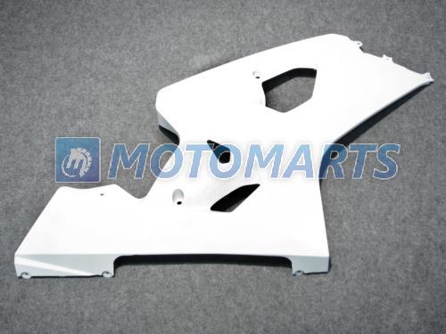 kit de carenagem branco puro PARA SUZUKI GSXR 600 750 K4 2004 2005 GSXR600 GSXR750 04 05 R600 R750