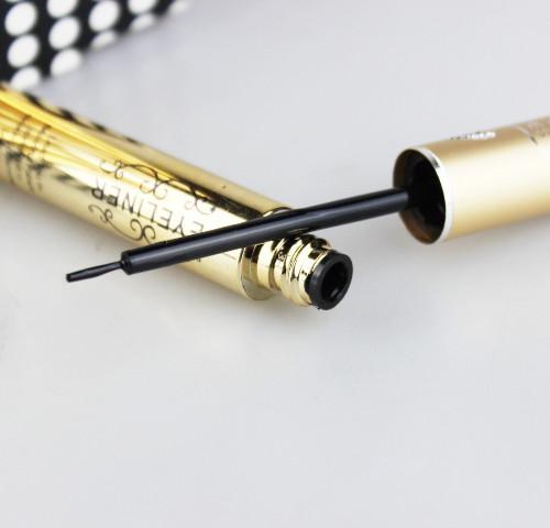 24 st / parti svarta färger flytande eyeliner fina varaktiga vattentäta anti-svett makeup eyeliner 8 ml 8406 #