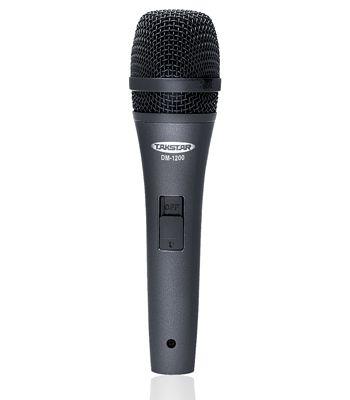 Venda quenteTakstar DM-1200 Microfones de bobina móvel para gravação KTV no palco performan
