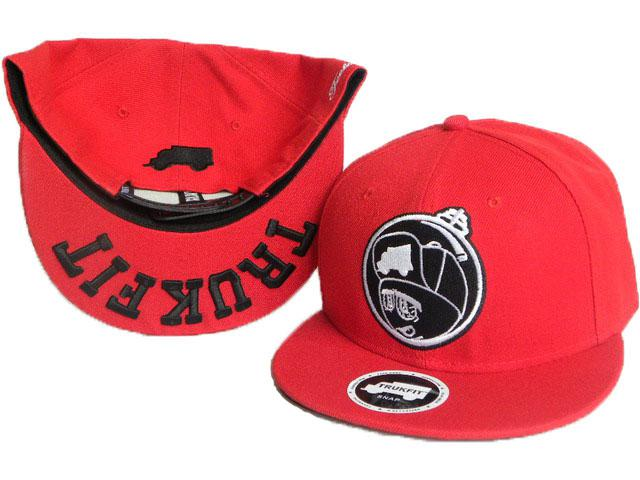 abe77c6b9f3da Trukfit Feelin Spacey Snapback Hat In Red With Black Good Quality Trukfit  Snapbacks Hat Baseball Hat Hat Store From Kind Hou