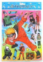 Wholesale Wall Stickers Naruto - Wholesale 100 sheets cartoon naruto Jolee`s Boutique Stickers