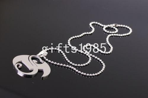Grote vreemde muziek charms roestvrijstalen hanger ketting zilveren mannen sieraden
