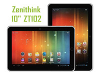 "Wholesale Tablet Inch Cortex A9 - 10"" Z102 GPS Android 4.0 Tablet PC Zenithink ZT280 Cortex A9 1GHz 512MB 4GB HDMI WiFi"