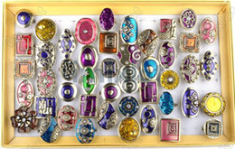Wholesale Enamel Rings Adjustable - Mixed lot 20pcs Enamel Rings Charming Ring Adjustable Rings Imixlot Jewelry [A01*20]
