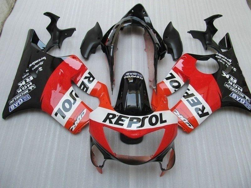 Motorcykel Fairings Kit för Honda CBR 600 F4 99 00 CBR600 F4 CBR600F4 1999 2000 Body Repair Fairing Parts