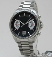 Wholesale Grand Calibre 17 Rs Watches - Grand Mens Calibre 17 RS Stainless steel Automatic Watch Men's Sports Wrist Watch Black Dial