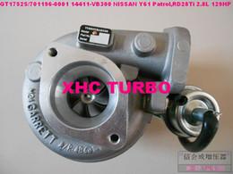 turbo-turbolader-kompressor Rabatt NEU GT1752S / 701196-0001 14411-VB300 Turbolader für NISSAN Y61 Patrol, Motor: RD28TI 2.8L 129HP