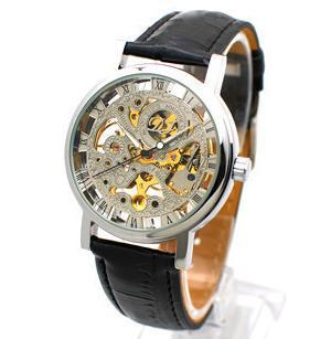 Cheap New Luxury Men Gold Byino Watches, Leather Belts ...