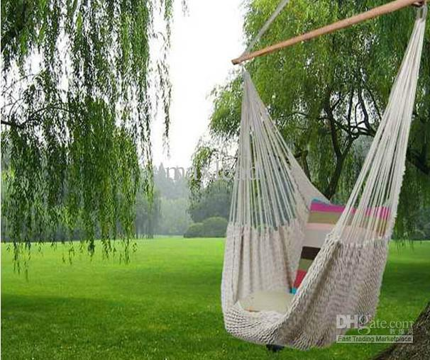 2019 New Hanging Cotton Rope Swing Hammock Chair 150kgs
