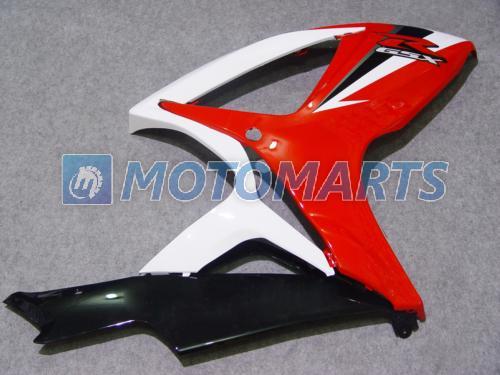 Kundenspezifischer Motorradverkleidungssatz für SUZUKI OEM Spritzguss GSXR 600 750 K6 2006 2007 GSXR600 06 07 R600 R750 Verkleidungen