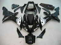Wholesale customize yzf r1 - Customize Black fairing kit for YAMAHA YZF R1 02 03 YZF-R1 2002 2003 Black Bodywork Fairing KIT Aftermarke