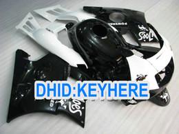 Wholesale 92 Honda F2 - Motorcycle Red Black white Hi-quality body Fairing kit for CBR600 F2 1991 1992 1993 1994 1994 CBR 600F2 91 92 93 94 fairings