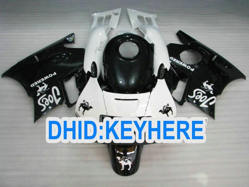 오토바이 레드 블랙 화이트 고품질 바디 CBR600 F2 용 페어링 키트 1991 1992 1993 1994 1994 CBR 600F2 91 92 93 94 페어링