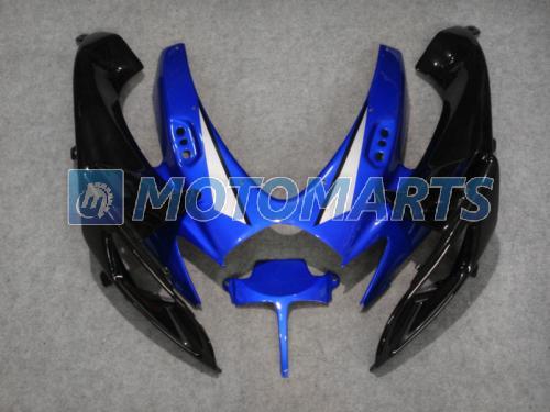 Carénage sur mesure bleu kit carénage POUR SUZUKI GSXR 600 750 OEM Injection K6 2006 2007 GSXR600 GSXR750 06 07