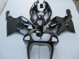 Wholesale Ninja Black Kit - 1 set ABS glossy Black Fairing Kit for ZX 7R ZX7R Ninja 96 97 98 99 00 01 02 03,support customize