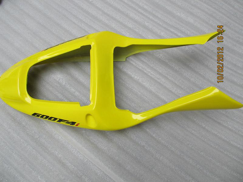 H6123 Juego completo de carenado amarillo PARA HONDA CBR600F4i 01 02 03 CBR600 F4i CBR 600 F4i 2001 2002 2003