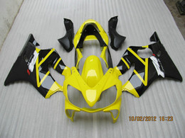 f4i full fairing Canada - H6123 Full set yellow fairing kit FOR HONDA CBR600F4i 01 02 03 CBR600 F4i CBR 600 F4i 2001 2002 2003