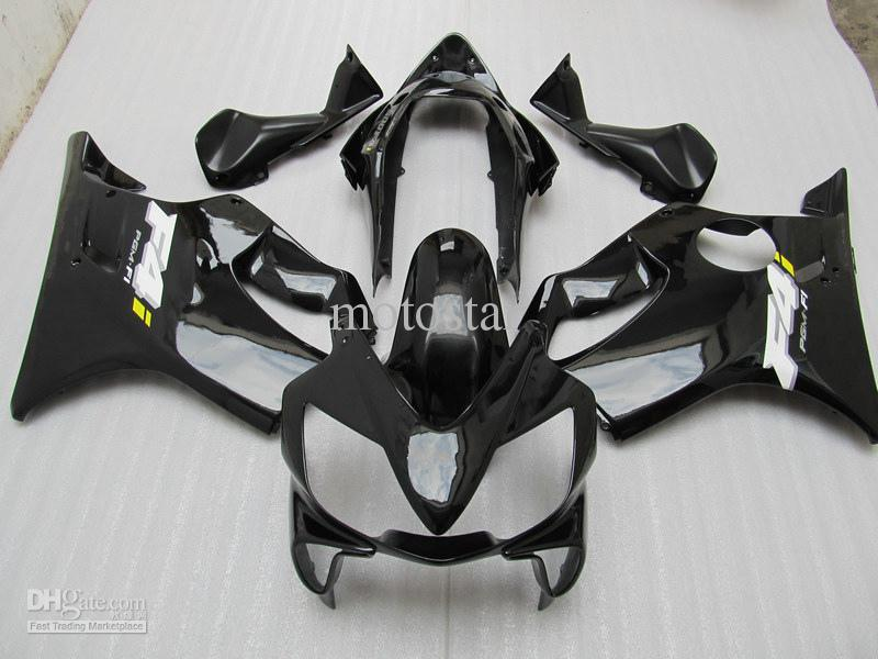 All Black Fairing kit FOR honda CBR600 04 05 06 07 CBR 600 F4I 04-07 2004 2005 2006 2007