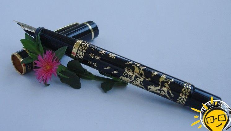Héros Xu Beihong stylo à plume huit chevaux figure senior calligraphie stylo 0.5mm NIB fête des entreprises faveur étudiant prix cadeau