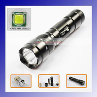 Wholesale Cheap Cree Flashlights - Cheap Ultrafire 502B Cree XM-L U2 1300 Lumen 5-Mode LED Flashlight 1*18650 battery +charger