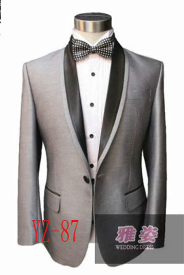 2017 Design Silk &Amp; Polyester Tuxedos Wedding Groomsman ...