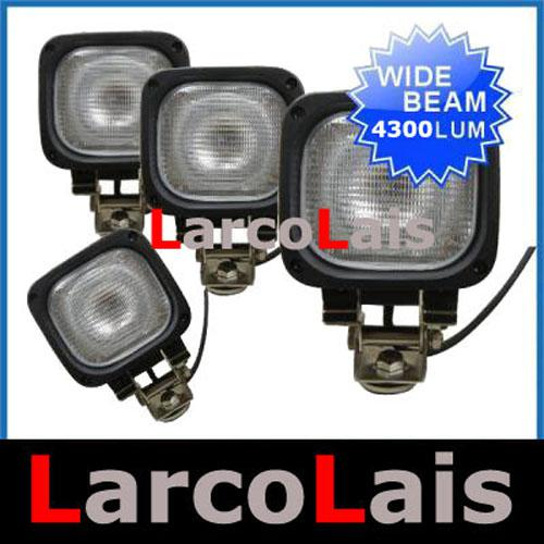 "4PCS 55W 4.5"" 4.5 inch 12V 24V HID Xenon Work Light Flood Beam Truck ATV Car 4X4 Project Offroad"