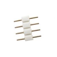 4pin stecker großhandel-500PCS 4Pin RGB LED-Streifen-Verbindungsstück (weiblicher Mann) geben Verschiffen frei