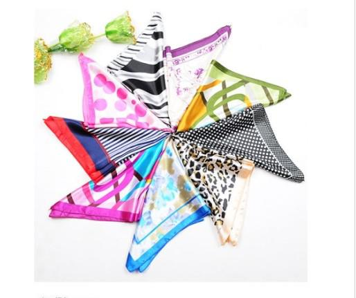 NEW Paris fashion womens ladies scarves scarf Silk Scarf kerchief mix colours