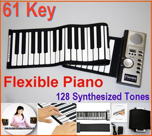 Wholesale Digital Key Piano Portable Flexible Piano Roll Up Different Synthesizer with Soft Keys External Speaker Electronic piano