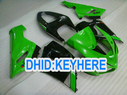 Wholesale Kawasaki 636 Fairings Set - KN08 1 set Green EIF Fairing for kawasaki Ninja 2005 2006 ZX6R ZX-6R 636 ZX636 ZX 6R 05 06 FAIRINGS