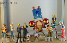 Wholesale One Piece Figure Model - 10 Pcs Anime One Piece Figures Dolls Toys 2 Years Later Large Doll Model