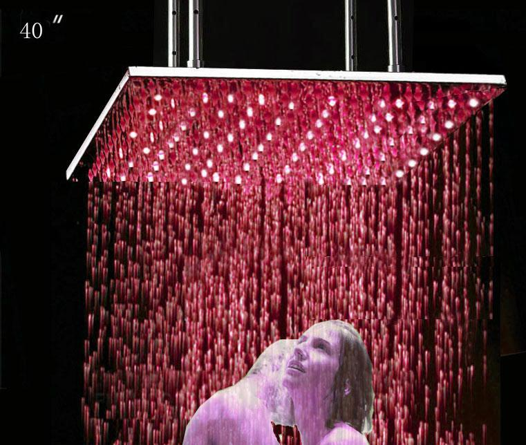 2018 40 Big Top Shower Largest Size Led Rain Shower Head From Pwbhil .