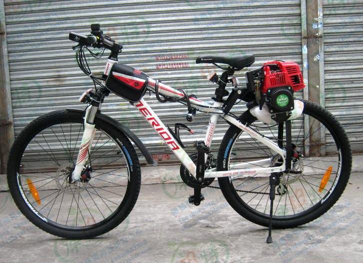 2018 Gas Bicycle Motor Kit Postposition Bike Diy Enginewhole