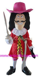 Wholesale Red Theme Mascot - pirate mascot costume carnival costumes theme party costumes movie character costume