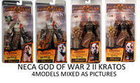 """Wholesale Kratos Ares Armor - Free shipping NECA GOD OF WAR 2 II KRATOS IN ARES ARMOR W BLADES 7"""" Action Figure 4models mixed"""