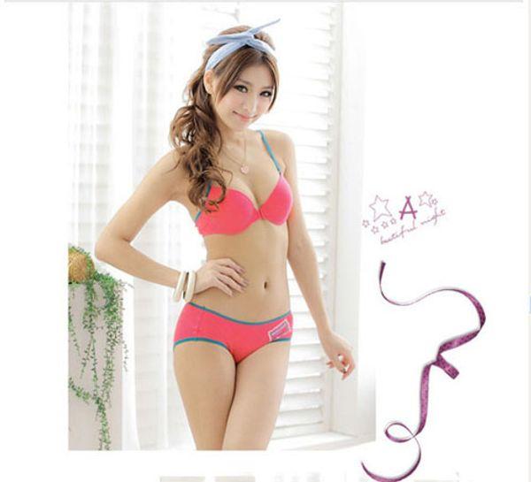 2017 Sexy Back Design Bra Set Fashionable Bra Panty Sets Girls ...