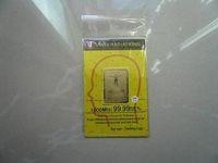 pegatina bling de piel para iphone al por mayor-Pegatina anti radiación 24K-oro