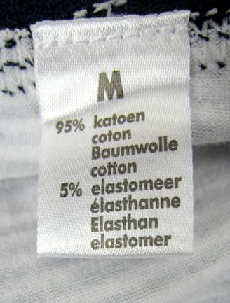 ZEEMAN estilo de la gente de mar de algodón Briefs calzoncillos de mujer mezclan orden