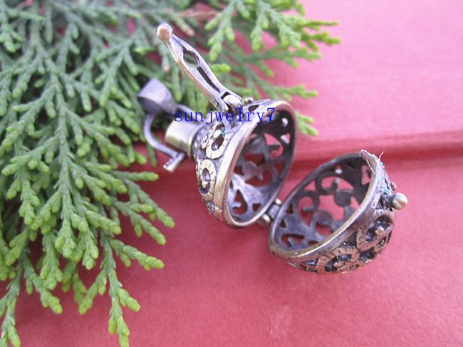 19 mm x 27 mm bronce antiguo deseando encantos colgante BP03 10 unids / lote