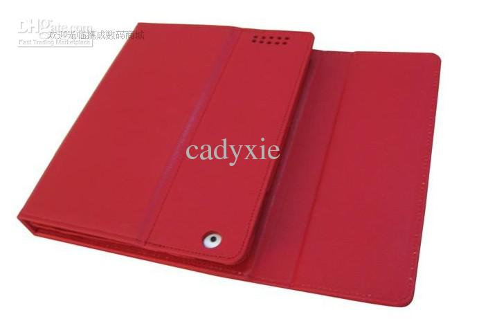 high quality Wireless Bluetooth Keyboard leather cover stand holder For iPad2 iPad3