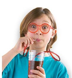 Wholesale Eyeglasses Drinking - Silly Straw Glasses Novelty Drinking Straw, Grinking Glasses Drinking Straw Eyeglass Frames Piped