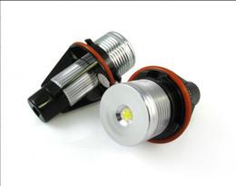 Wholesale E83 Bmw - 3W Supply LED angel eye White Blue Red Green Amber for BMW E39 E53 E60 E61 E63 E64 E65 E66 E83 E87
