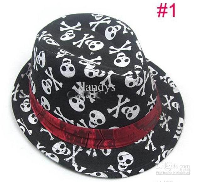 Bebek çocuk çocuk Kapaklar aksesuarları şapka erkek grils fedora şapka Parti Şapka, 10 adet / grup, dandys