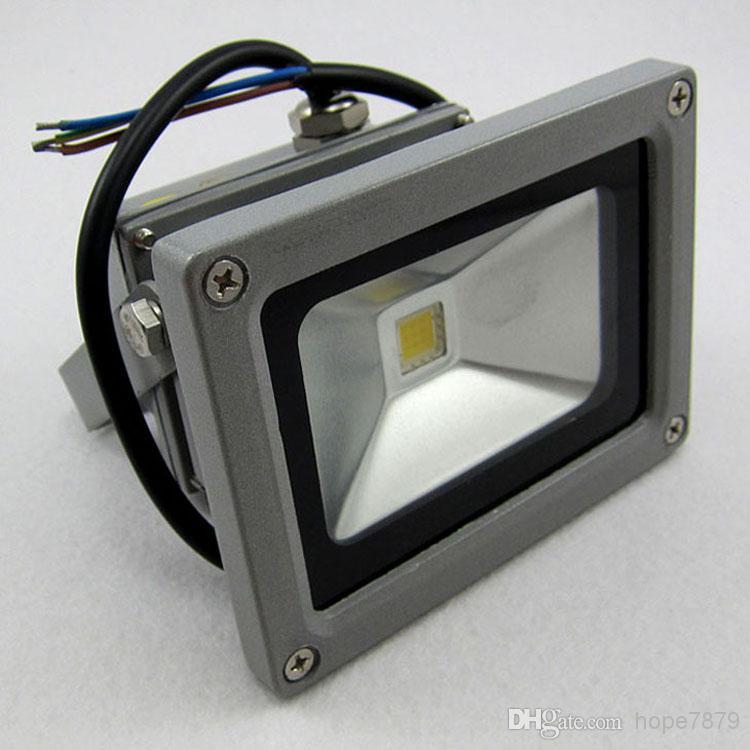 AC 12V 24V 10W LED luz de inundación al aire libre iluminación del paisaje de baja tensión iluminación led impermeable IP65 con alto lumen chip de bridgelux