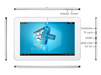 Sanei N90 Android 4.0 Tablet PC 10,1 pouces Allwinner A10 1,5 GHz 1 Go / 16 Go Bluetooth double caméra blanc