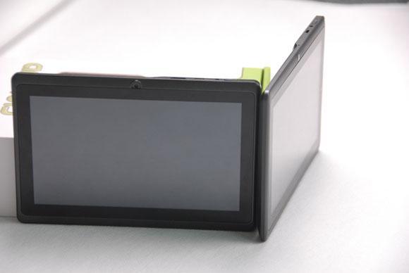 Tablet PC de doble núcleo A23 Q88 de 7 pulgadas con pantalla múltiple capacitiva, 512 MB 4 GB