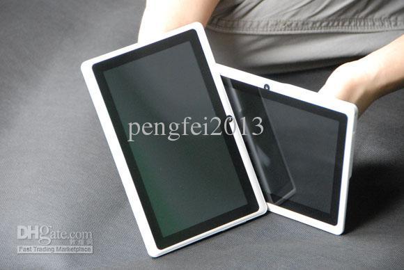 7 인치 듀얼 코어 A23 Q88 태블릿 PC 용량 성 멀티 스크린, 512MB 4GB